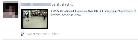 """Der Köder: Ein """"lustiger"""" Link"""