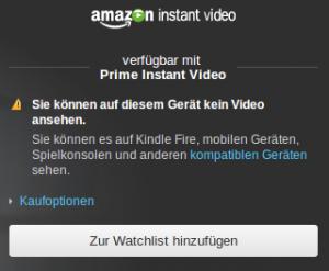 Du kannst hier kein Video gucken.
