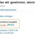 Spitzenreiter Sachbuch: Das eBook ist 1ct billiger als die gebundene Ausgabe